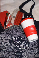 Bag to school